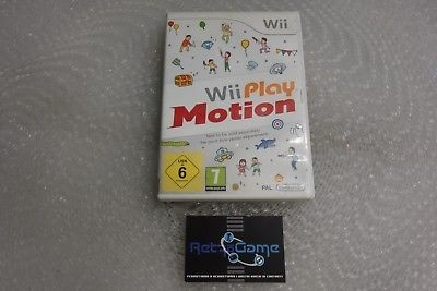 WII PLAY MOTION  Nintendo  wii pal ita